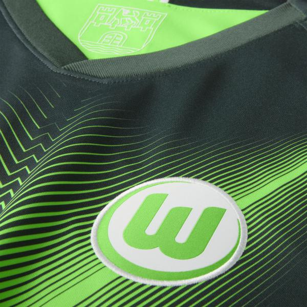 Nike Maglia Gara Home Wolfsburg   19/20 Verde Tifoshop