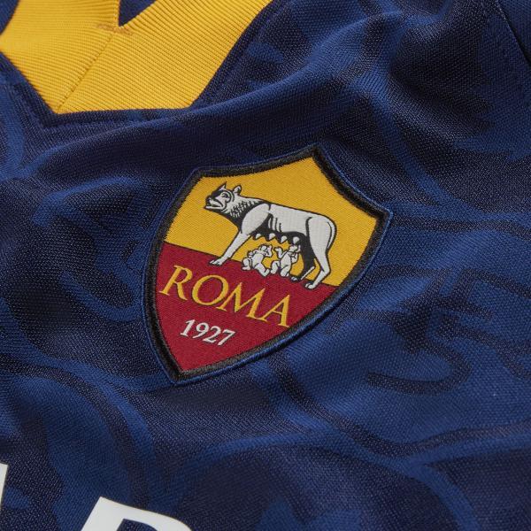 Nike Maglia Gara Terza Roma Junior  19/20 Blu Tifoshop
