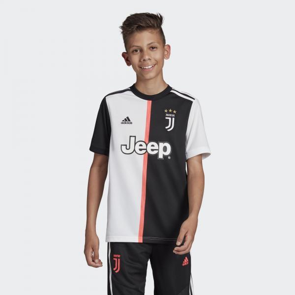 Adidas Maglia Gara Home Juventus Junior  19/20 Bianco/Nero Tifoshop