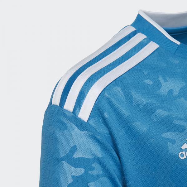Adidas Maglia Gara Terza Juventus Junior  19/20 Blu Tifoshop
