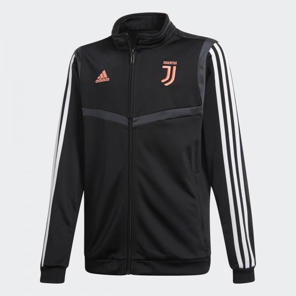Adidas Tuta Allenamento Juventus Junior Nero Tifoshop