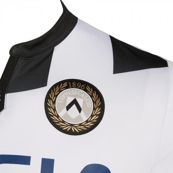Macron Maglia Gara Home Udinese   19/20 BIANCO/NERO Tifoshop