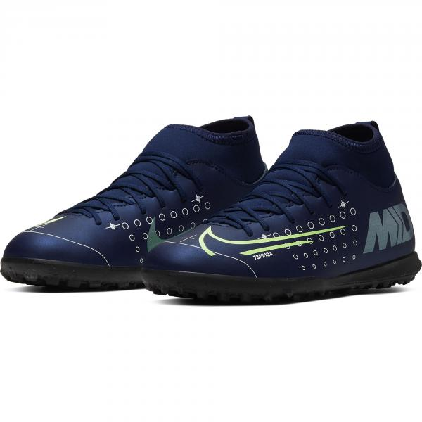 Nike Scarpe Calcetto Superfly 7 Club Mds Tf  Junior Blu Tifoshop
