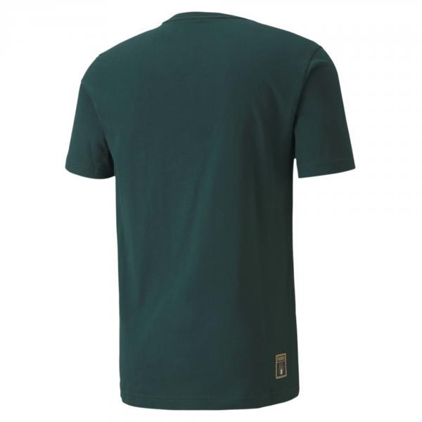 Puma T-shirt Dna Italia Verde Tifoshop