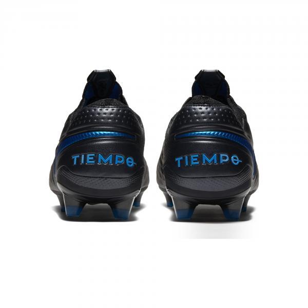 Nike Scarpe Calcio Tiempo Legend 8 Elite Fg Nero Blu Tifoshop