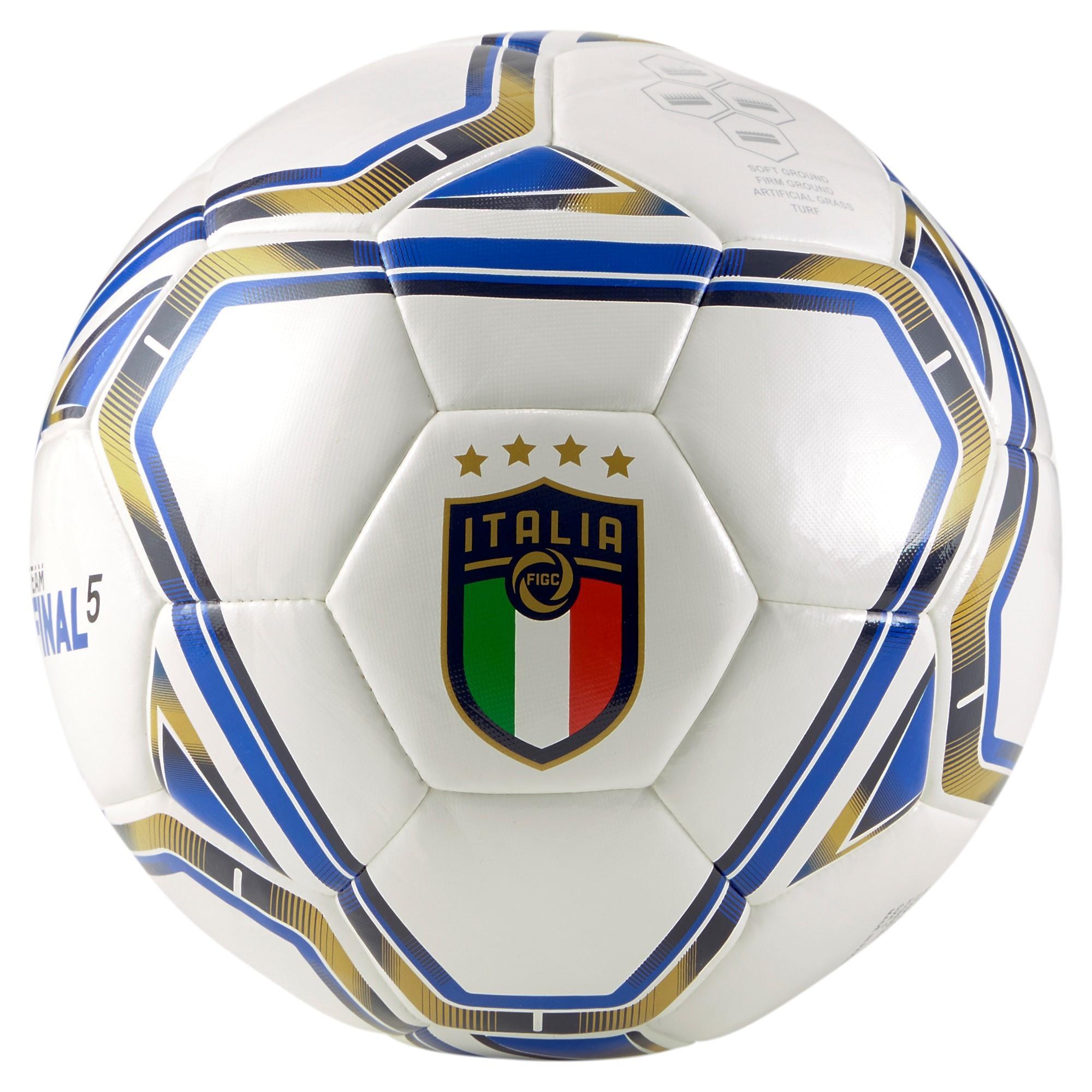 Puma Pallone Figc Final 5 Hybrid Italia Unisex