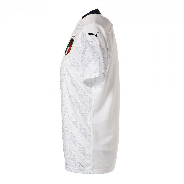 Figc Italia Away Shirt Replica Ss
