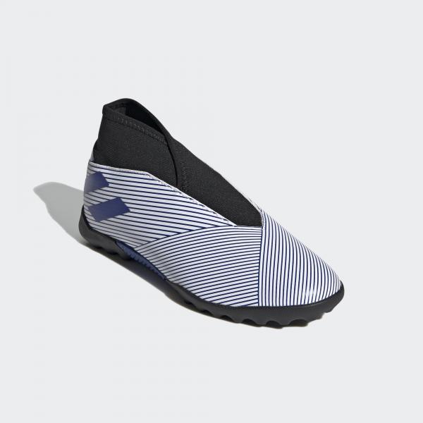 Adidas Scarpe Calcetto Nemeziz 19.3 Ll Tf J  Junior Bianco Tifoshop