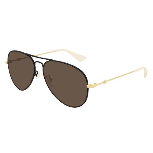 002 black gold brown