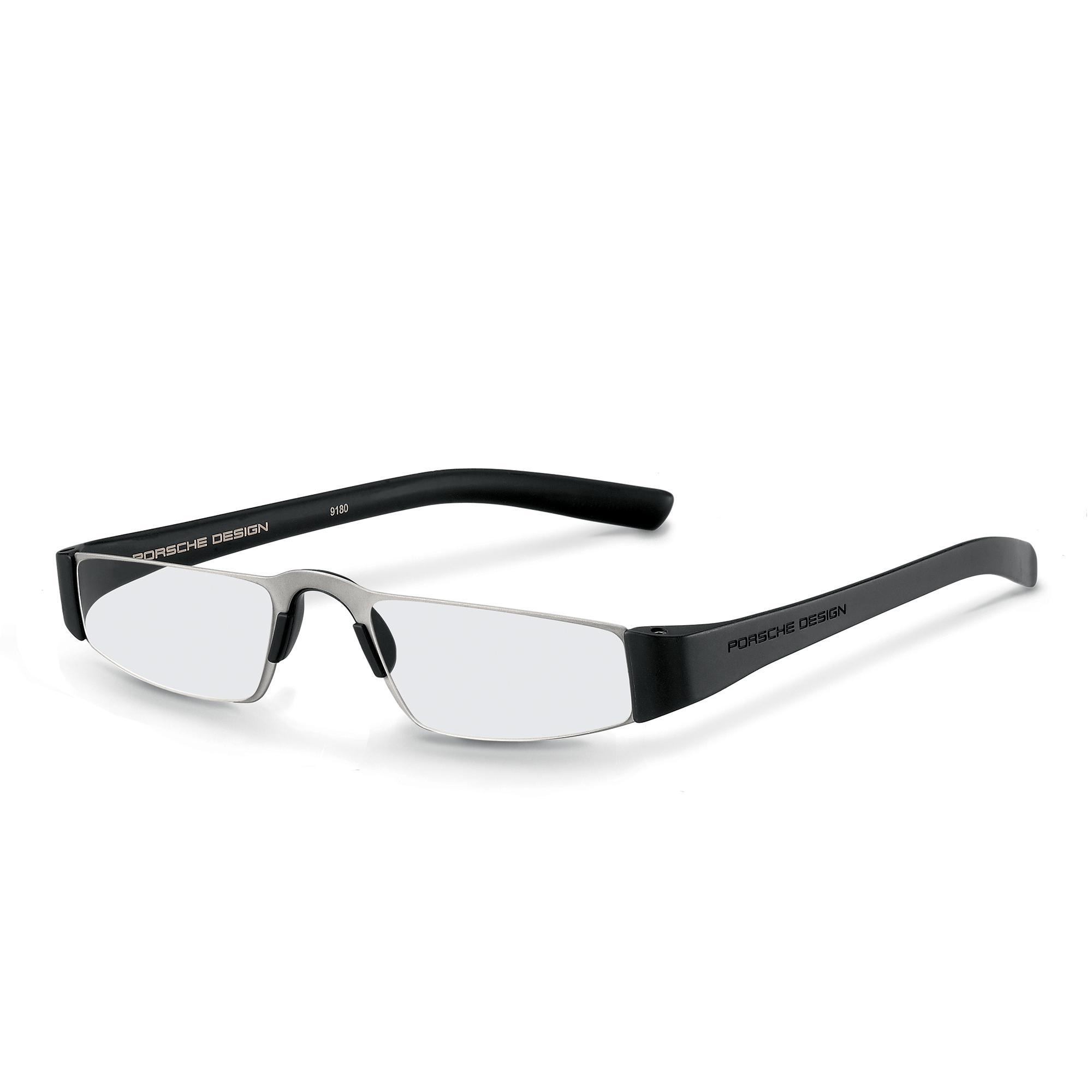 titanium, black/transparent