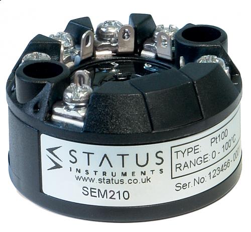 In Head Temperature Transmitters SEM210 MKII