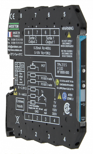 Convertors slim serie 7,2mm – 6,2mm TPIs214s