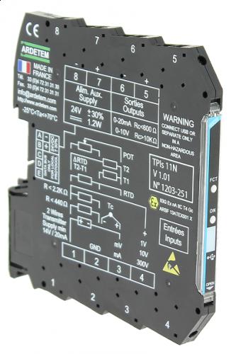 Convertors slim serie 7,2mm – 6,2mm TPIs261