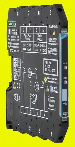 Convertors slim serie 7,2mm – 6,2mm TPIs70