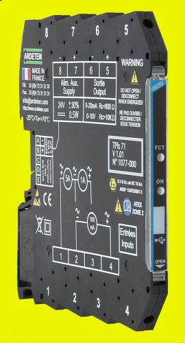 Convertors slim serie 7,2mm – 6,2mm TPIs71
