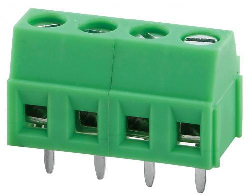 PCB screw terminal blocks GT381-3,5-02P-14-00AH