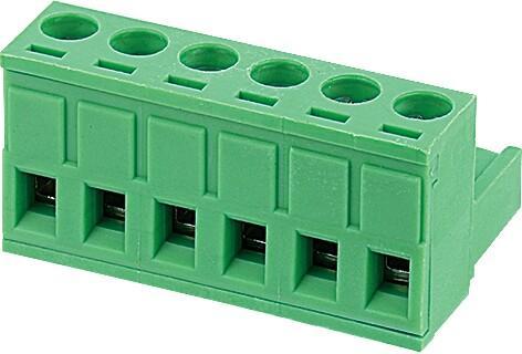 Pluggable screw terminal blocks 2EGTK-5.08-06P-14-00AH
