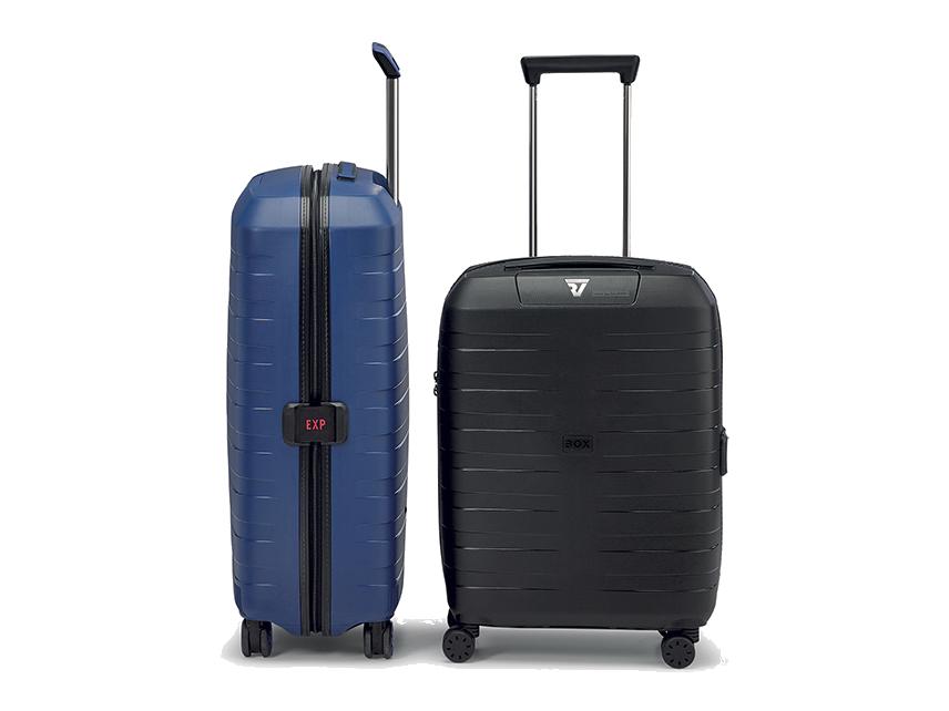 """VALIGIA GRANDE 28/"""" medio su 4 ruote bagaglio leggero Guscio Rigido Viaggio ABS"""