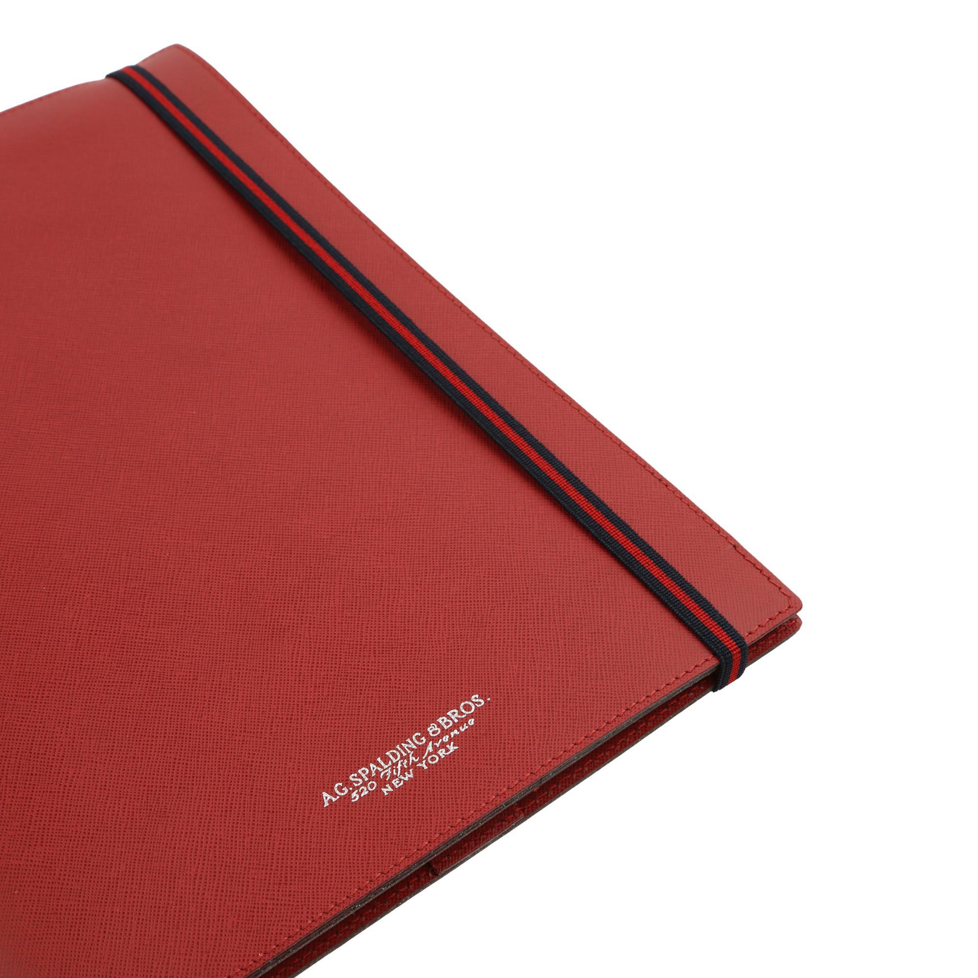 New Easy Porta Blocco Rosso