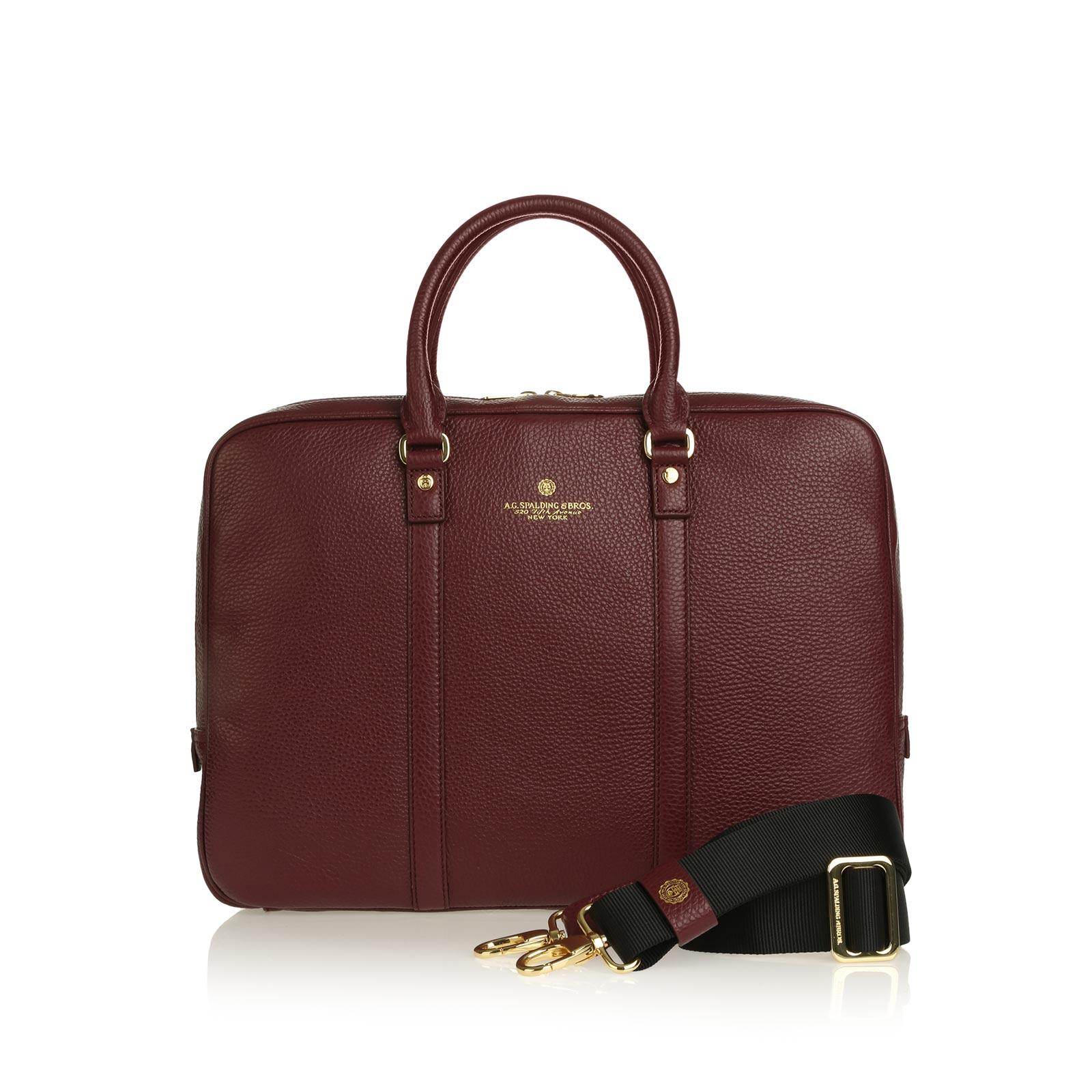 Tiffany Cartella Manici Corti BORDEAUX