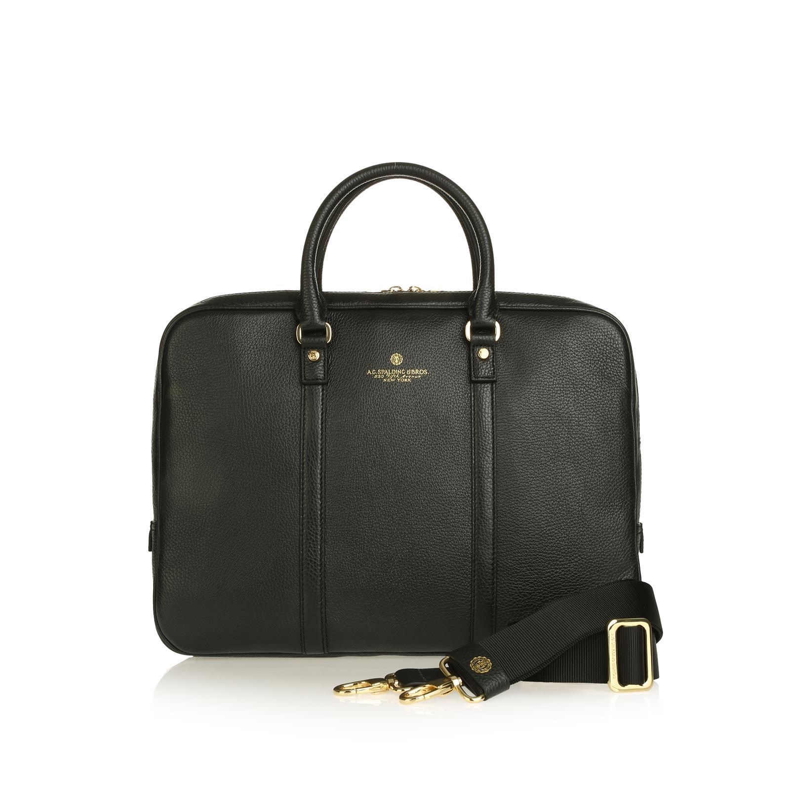 Tiffany Short Handles Briefcase BLACK