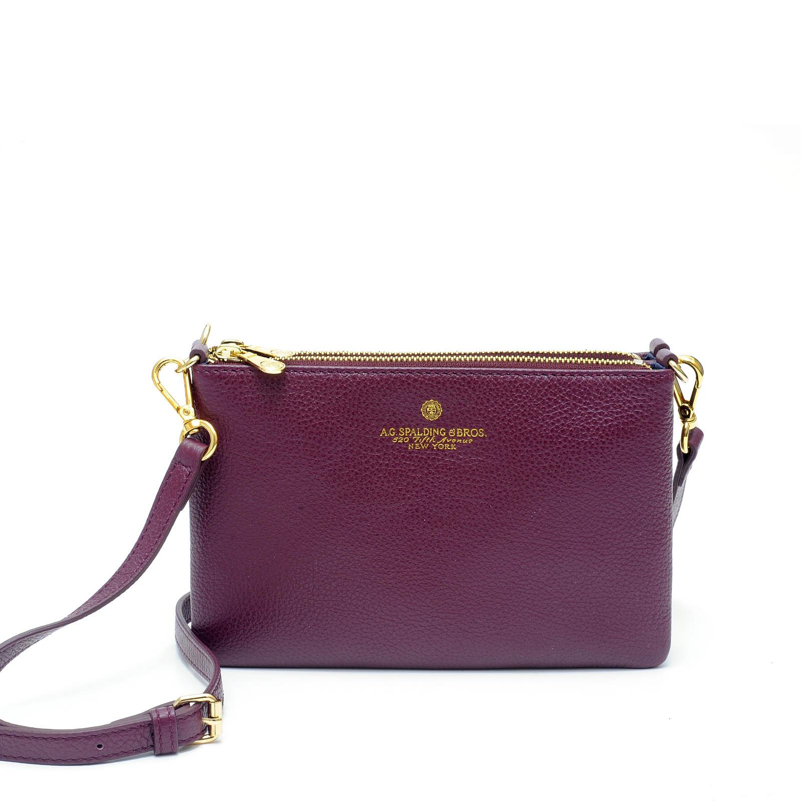 Easy Double Bag Tiffany BORDEAUX