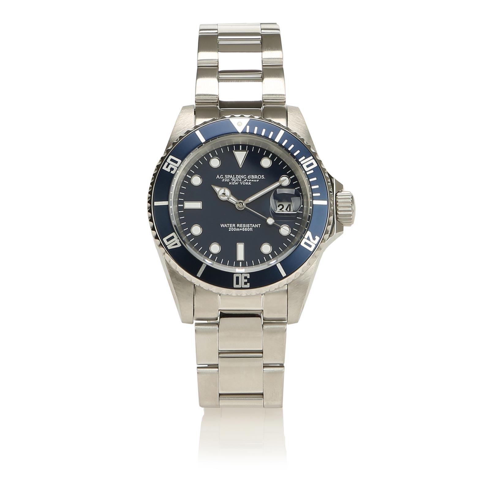 Orologio Diver Uomo Blu