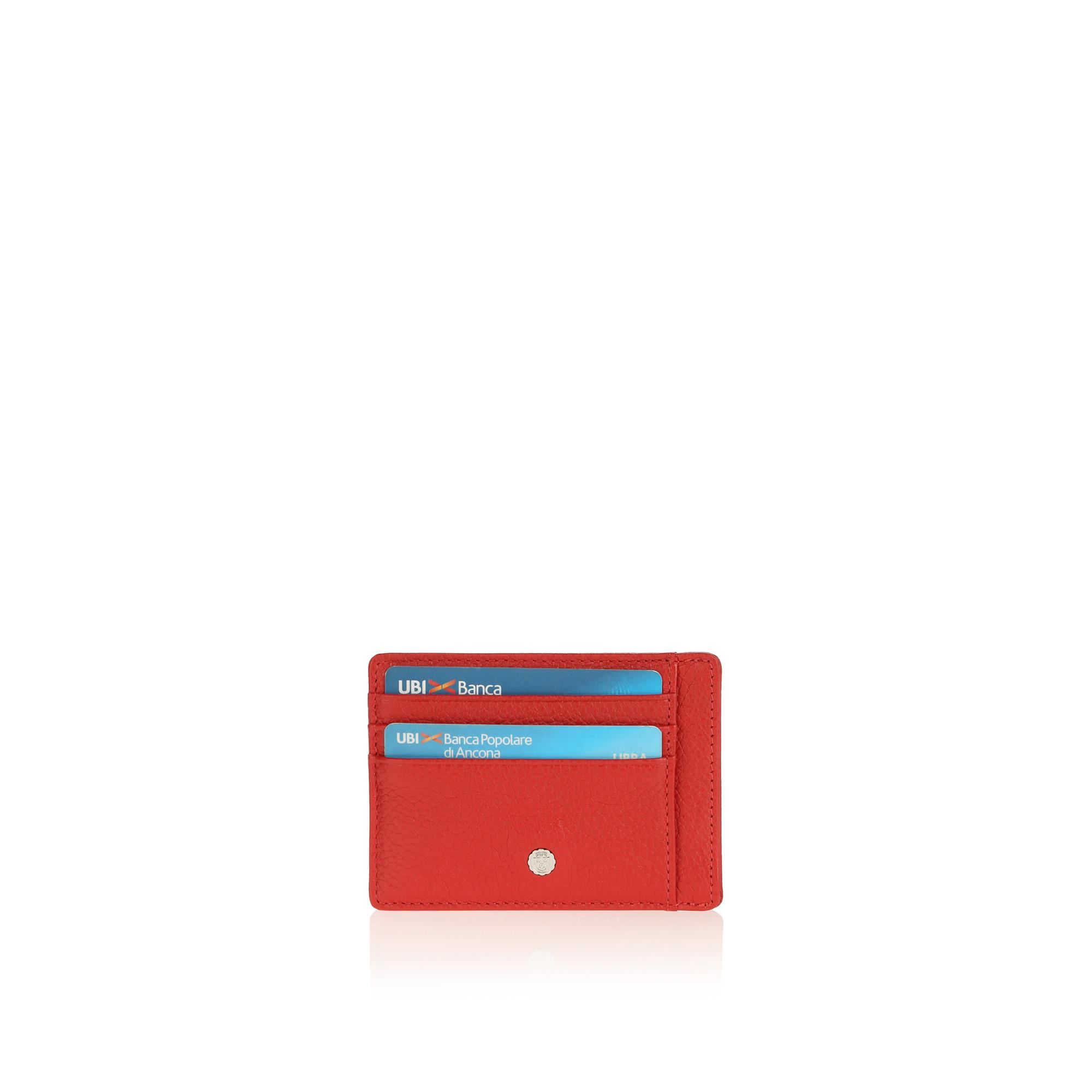 Century Small Credit Card Holder red