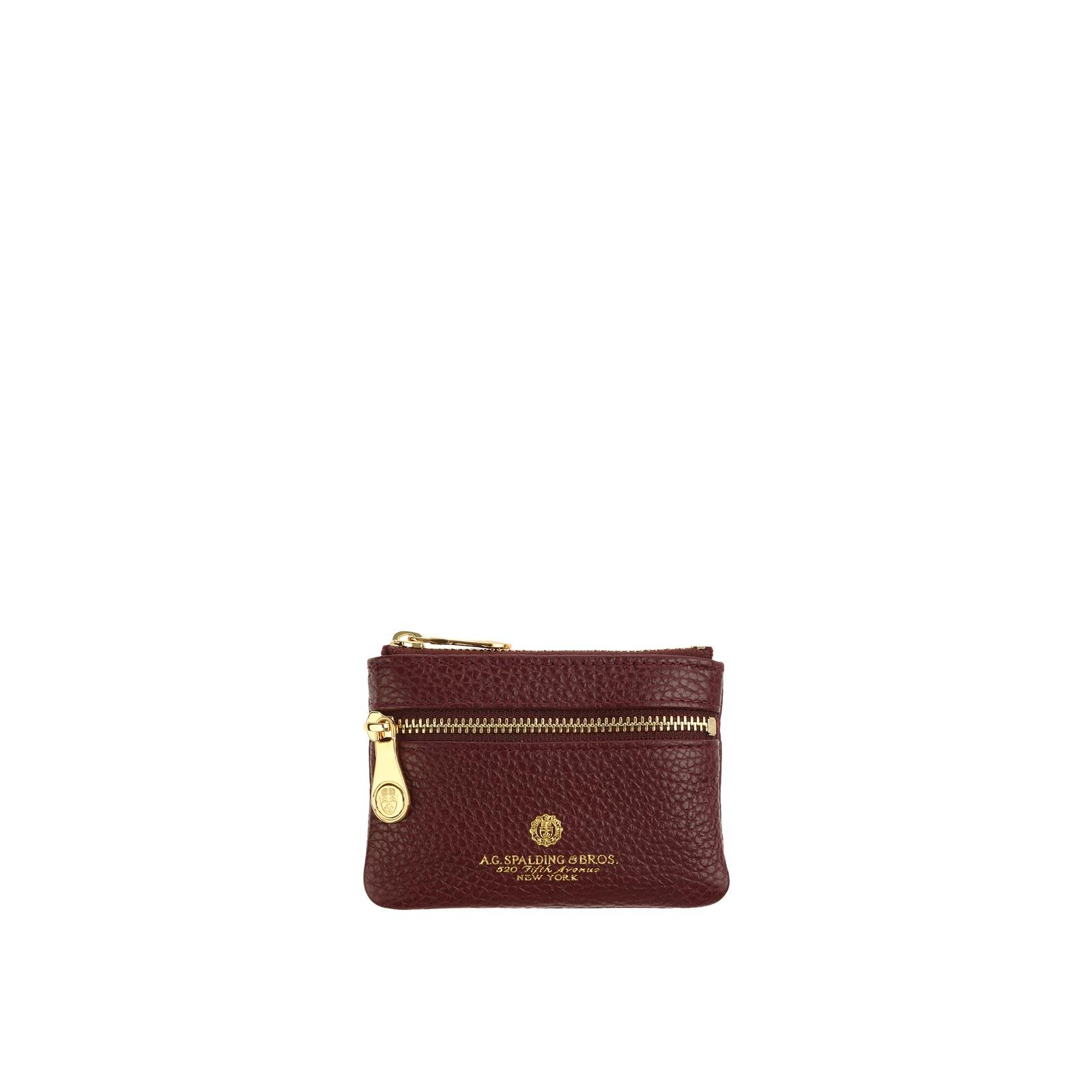 Portachiavi Con Due Zip Tiffany BORDEAUX