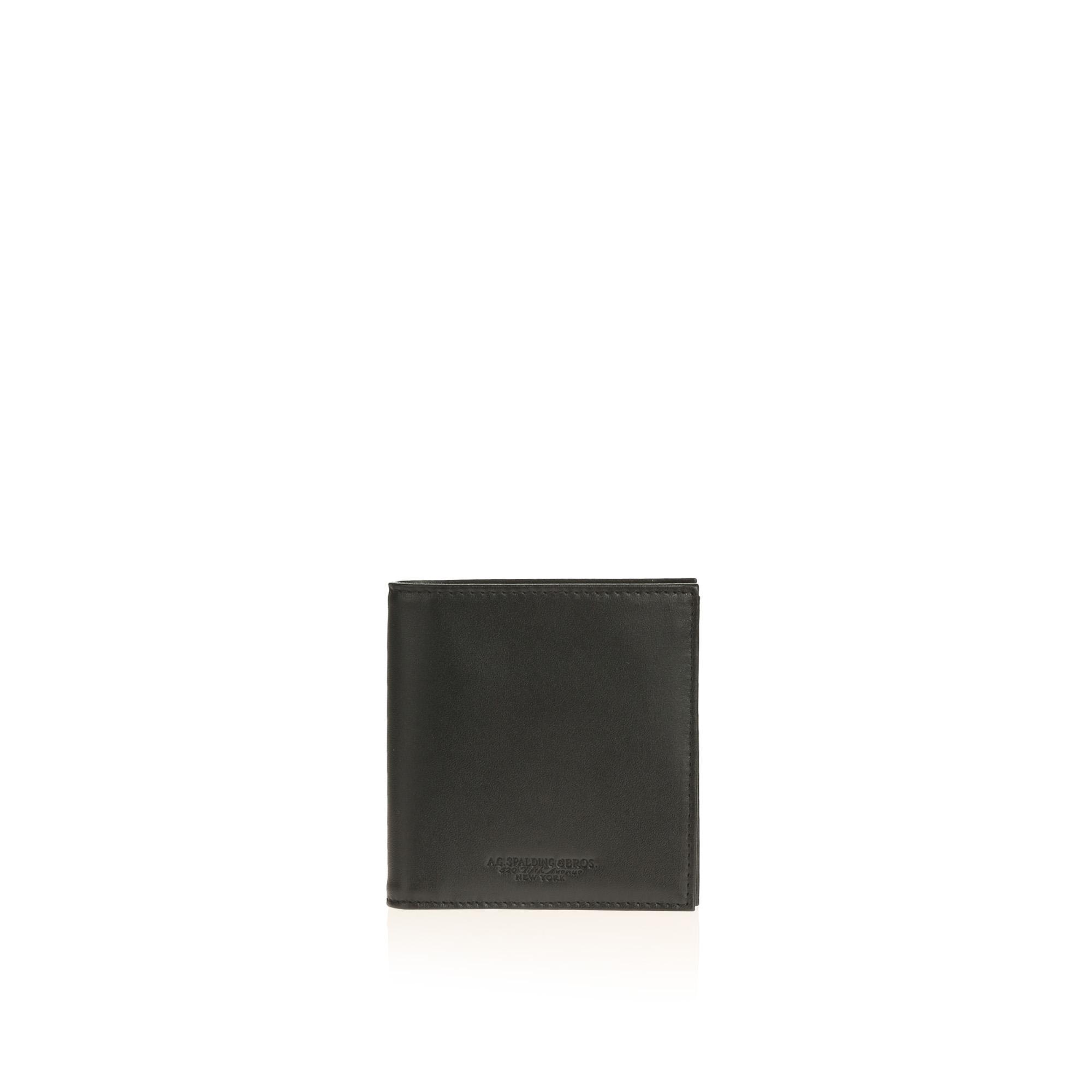 Shiny Portafoglio Quadrato 10cc Nero