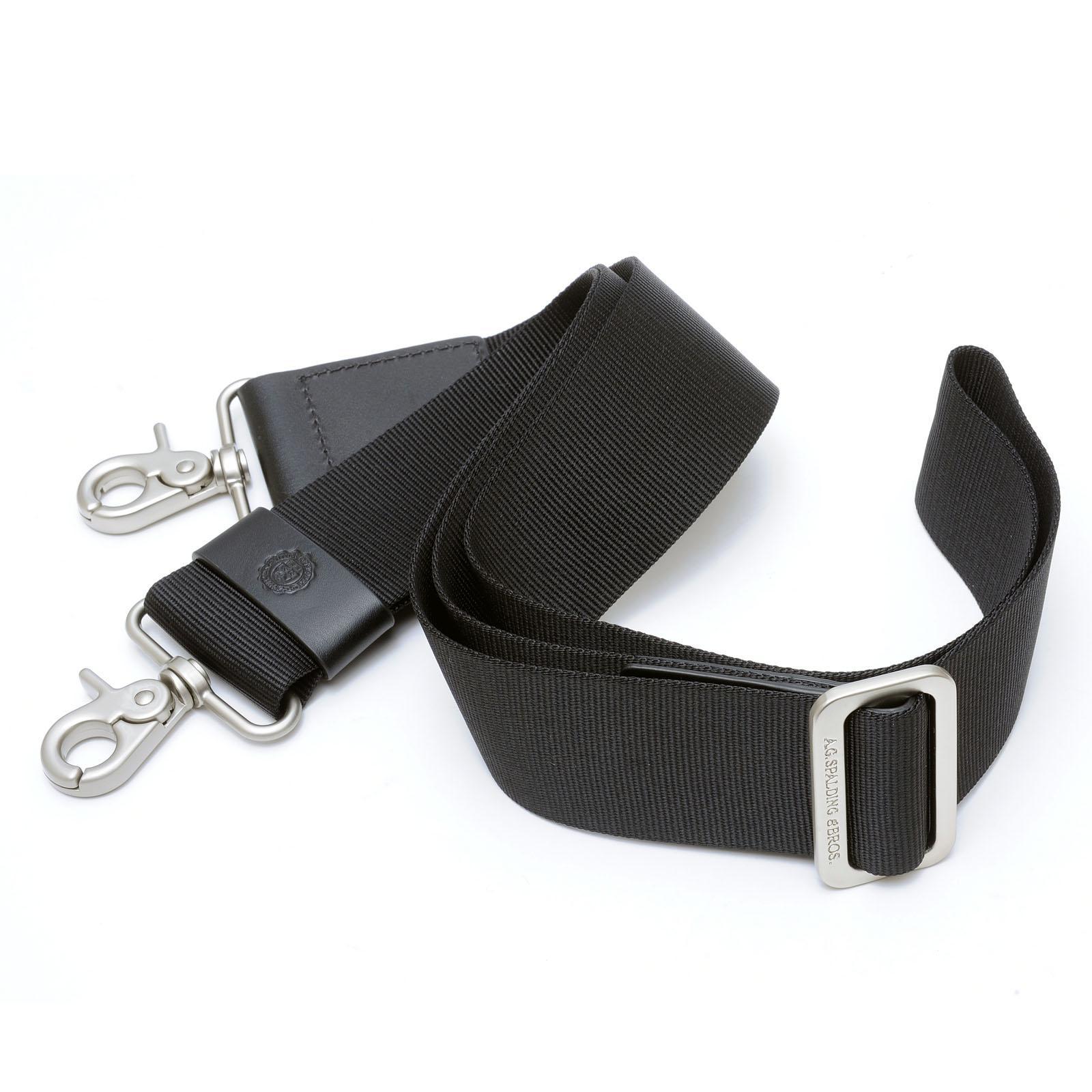 Shoulder Belt For Leather Briefcase BLACK