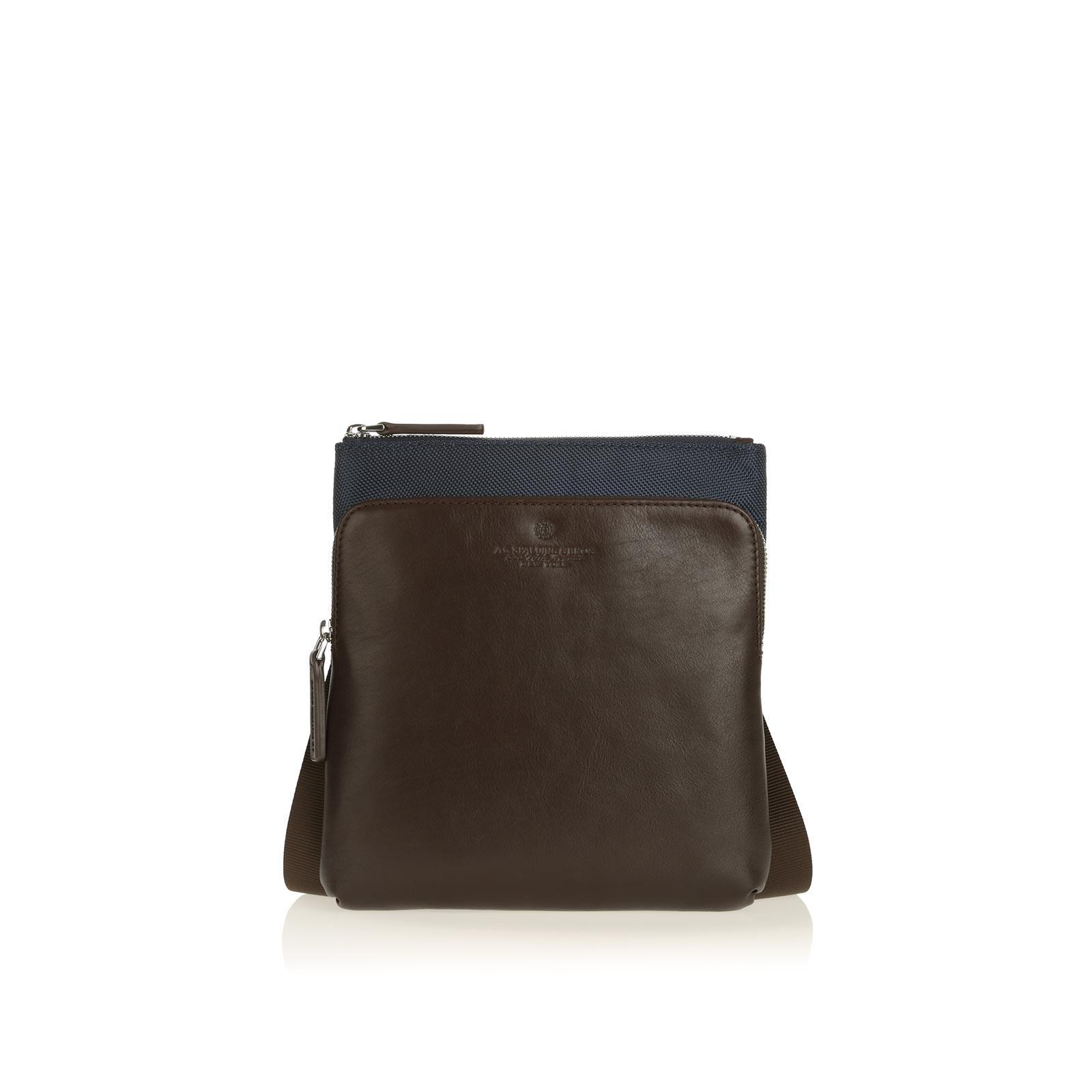 Busta Tracolla Body Bag Metropolitan Blu/Testa Moro