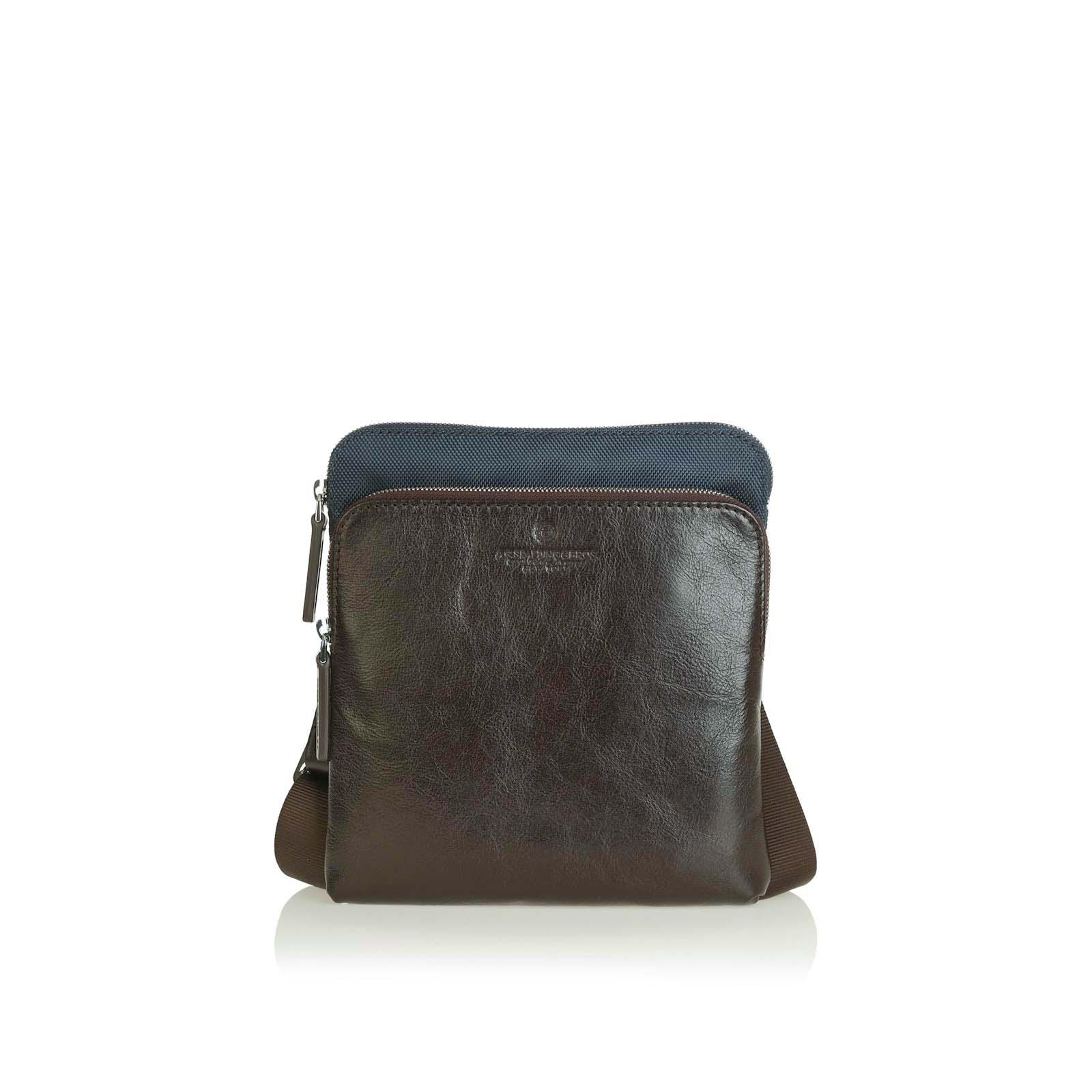 Curved Body Bag Metropolitan BLU/TESTA MORO