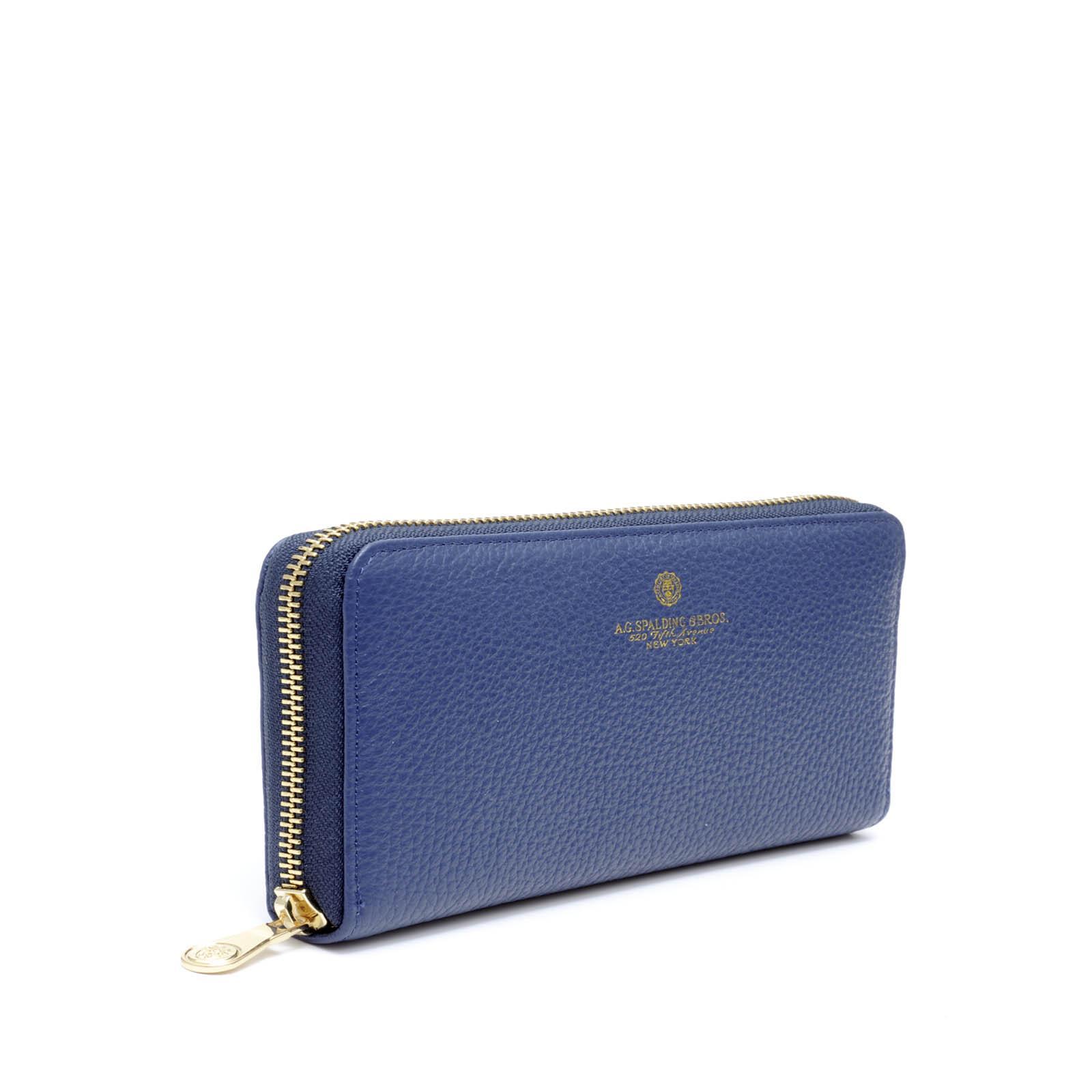 Tiffany Portafoglio Zippato Blu