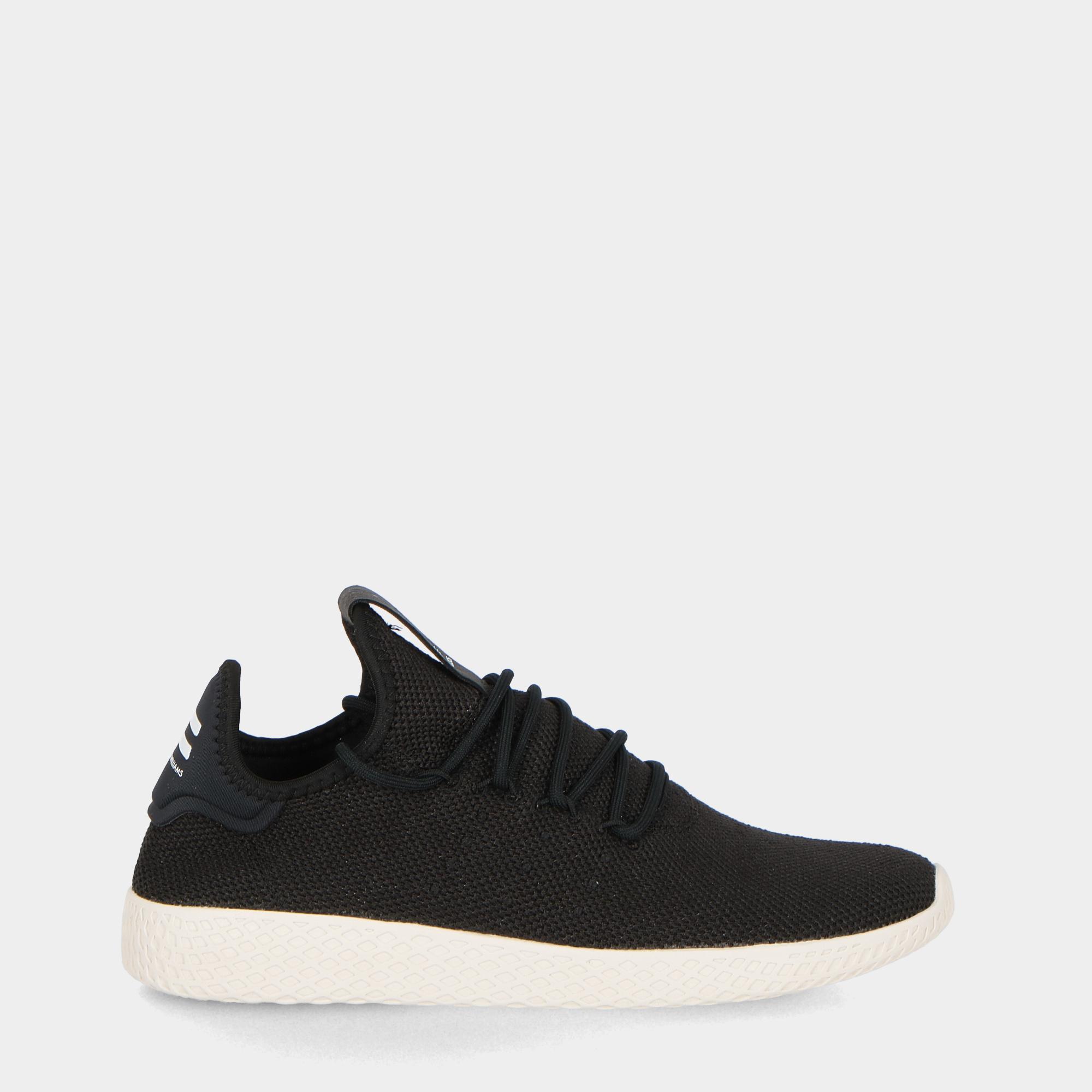 3078f8653 Adidas Pharrel Williams Tennis Hu Black Black White