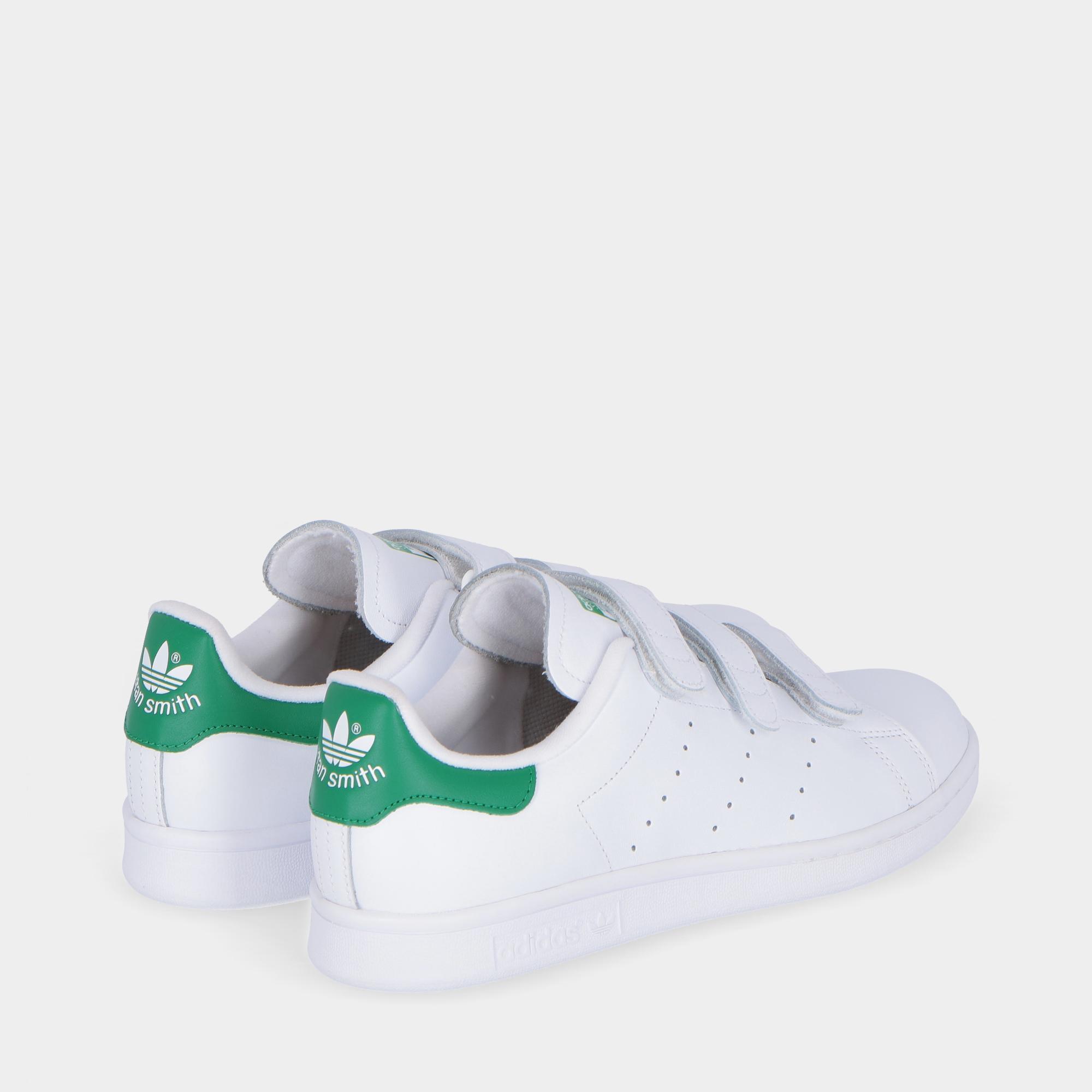 pretty nice b98d2 4f1d3 Adidas Stan Smith Cf White green