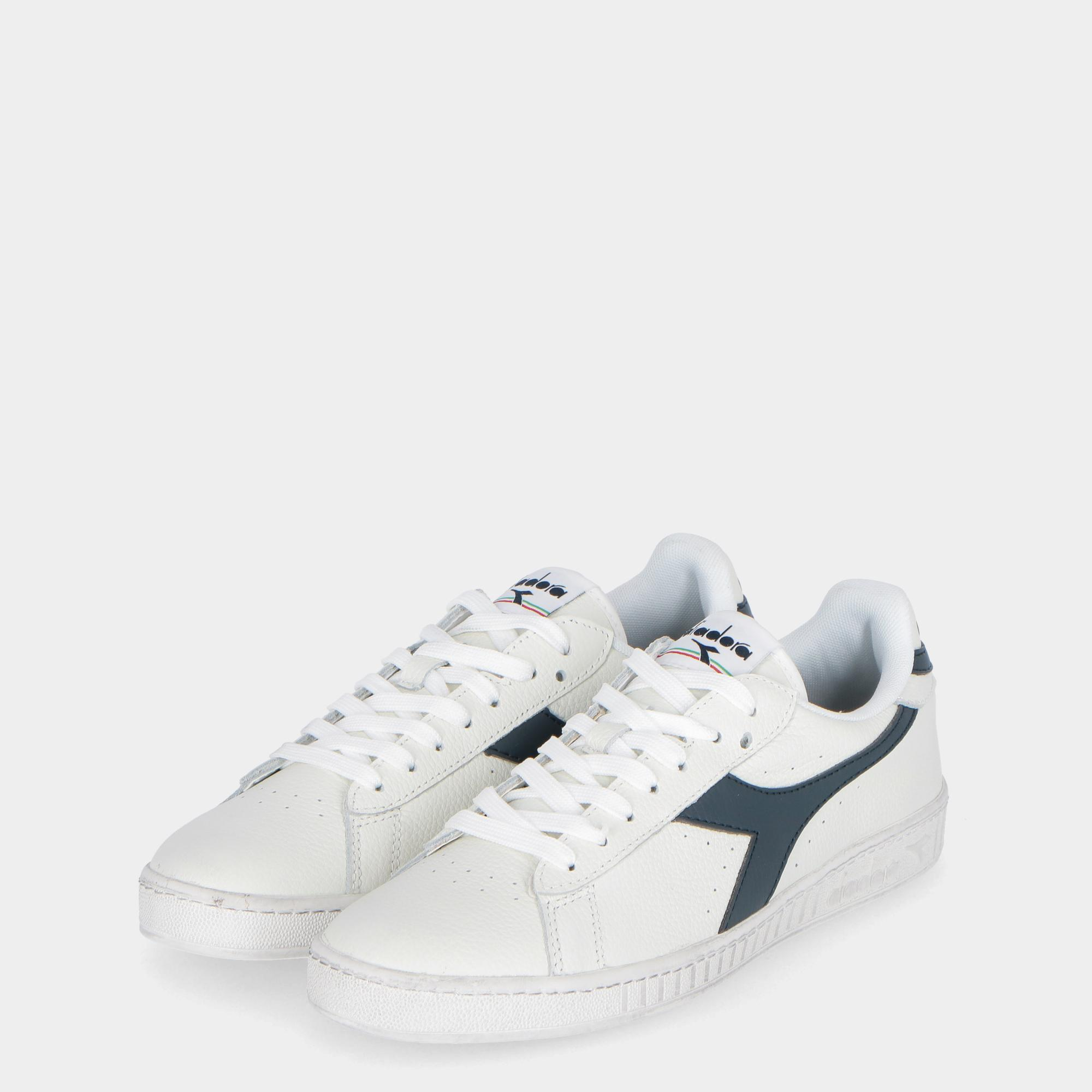 103cb97156a9d Treesse Low Diadora White L Game Casp Waxed Blue wA0zTA1q
