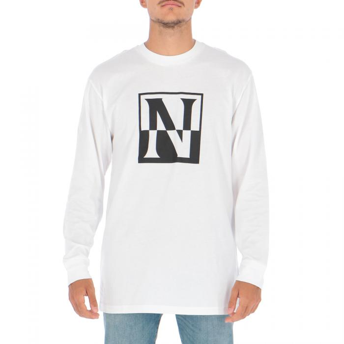 napapijri t-shirt e canotte bright white