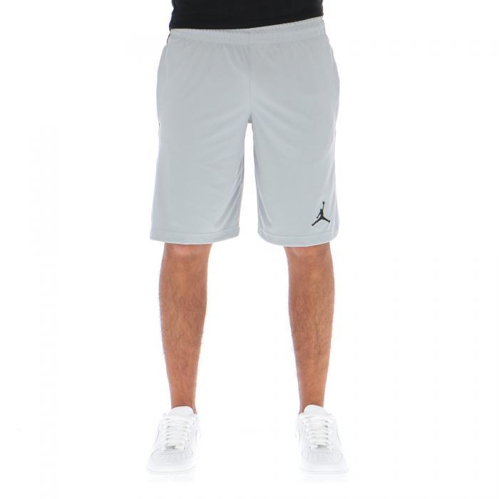 jordan shorts light grey black