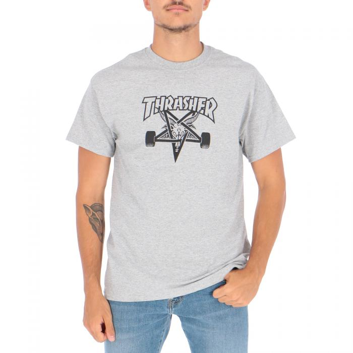 thrasher t-shirt e canotte gray