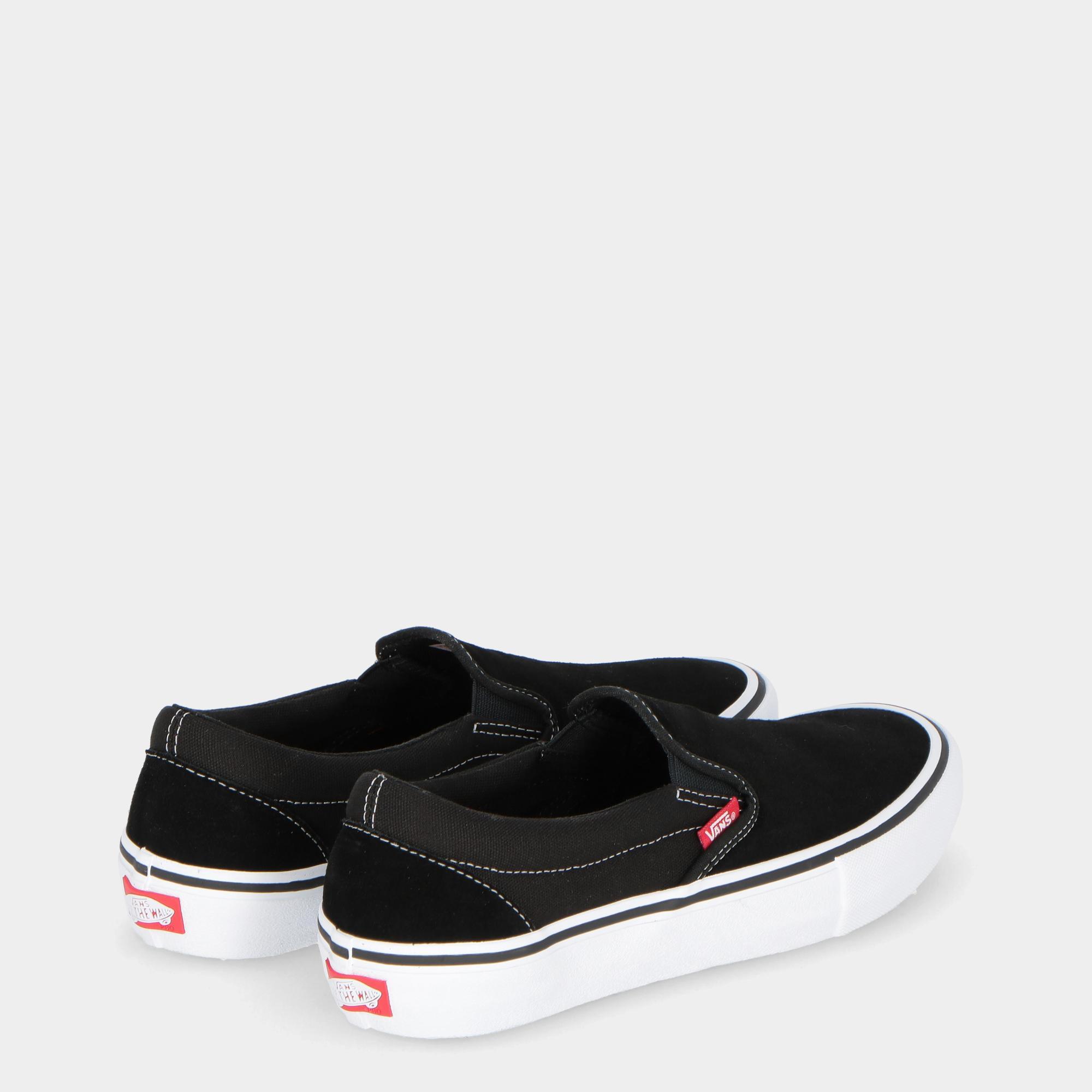 67fe7744a392ef Vans Slip On Pro Black White Gum