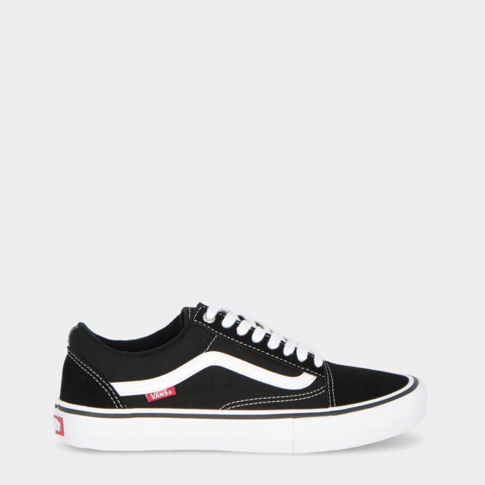 vans basse black white