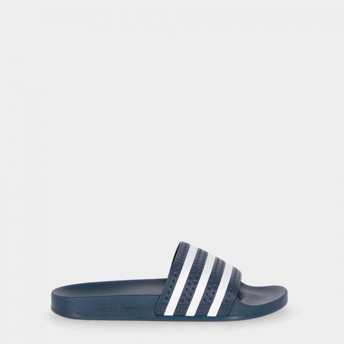adidas ciabatte white blue