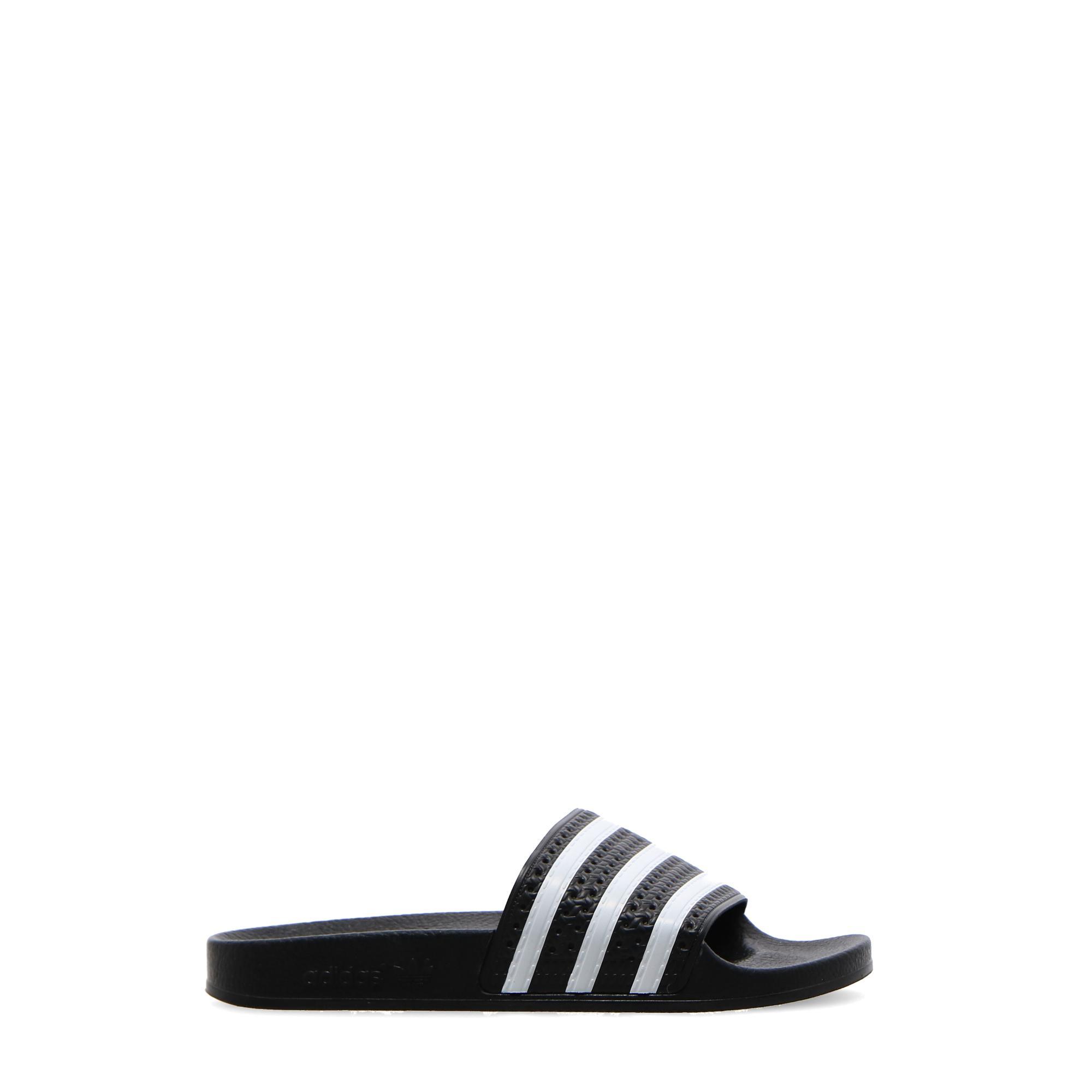 Adidas Adilette Black white black