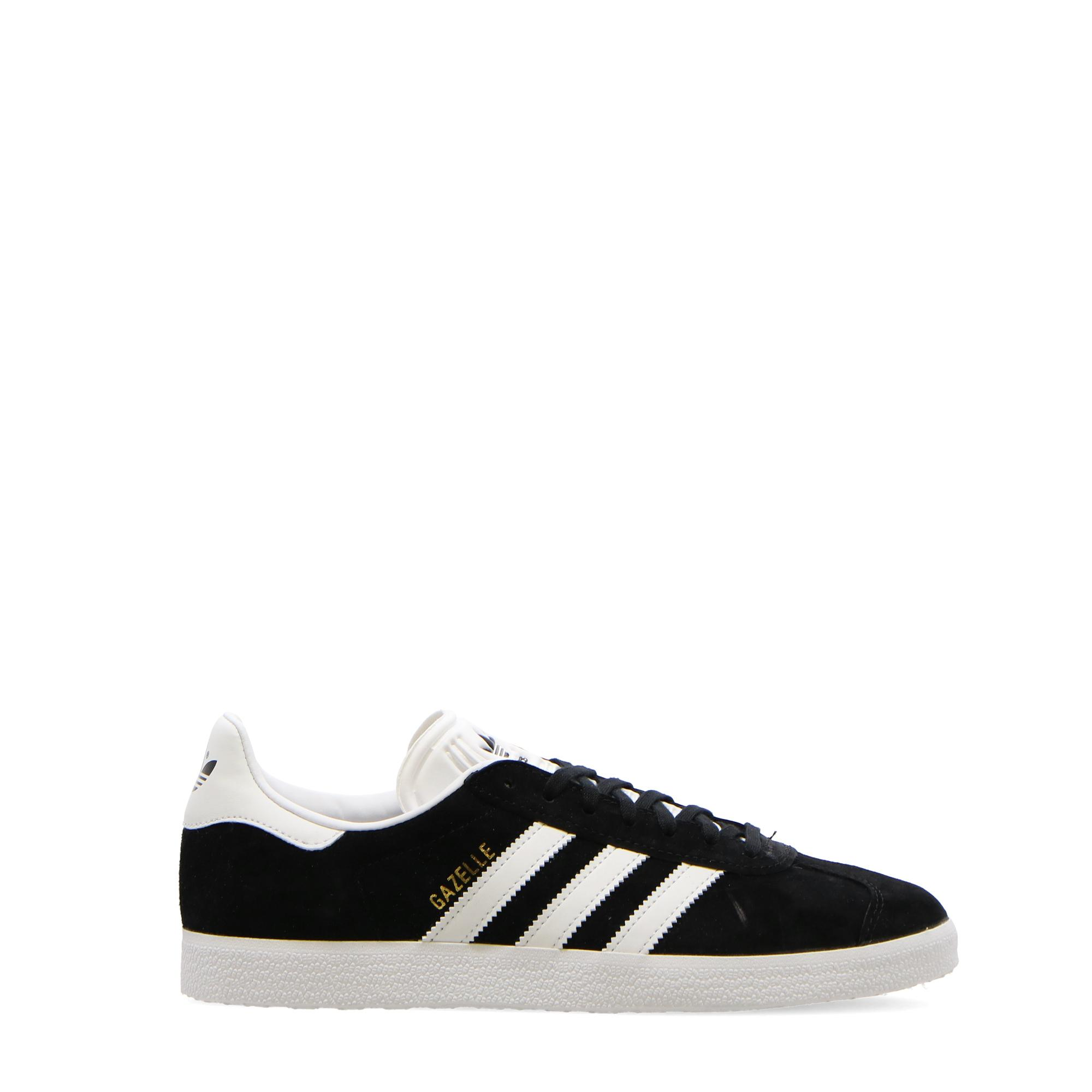Adidas Gazelle Black white gold