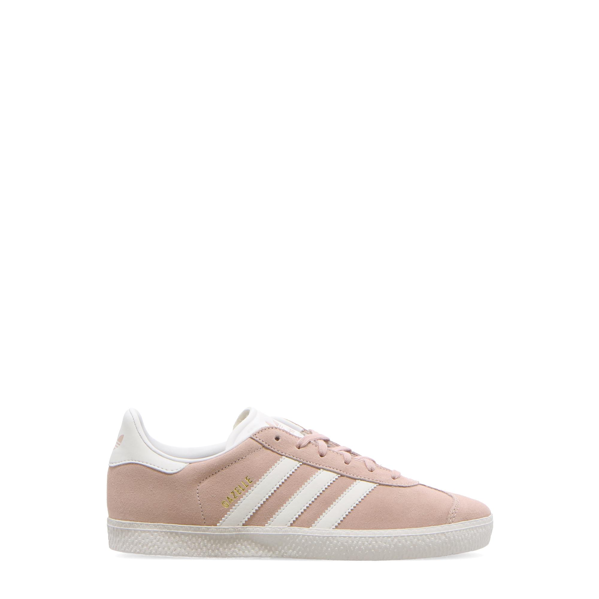 Adidas Gazelle J Ice pink f17 white gold met