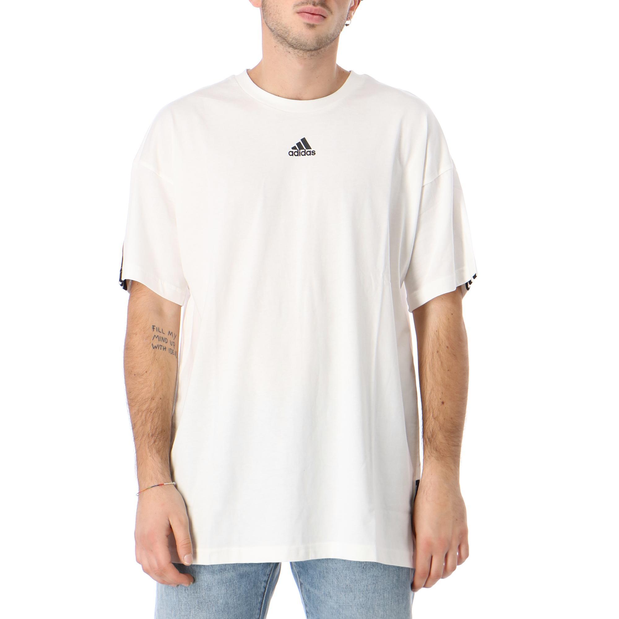 Adidas M Mh 3s Tee WHITE