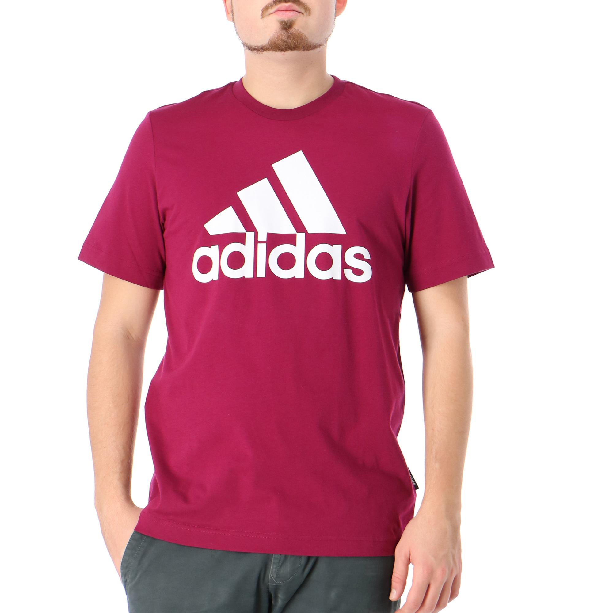 Adidas Mh Bos Tee Power berry