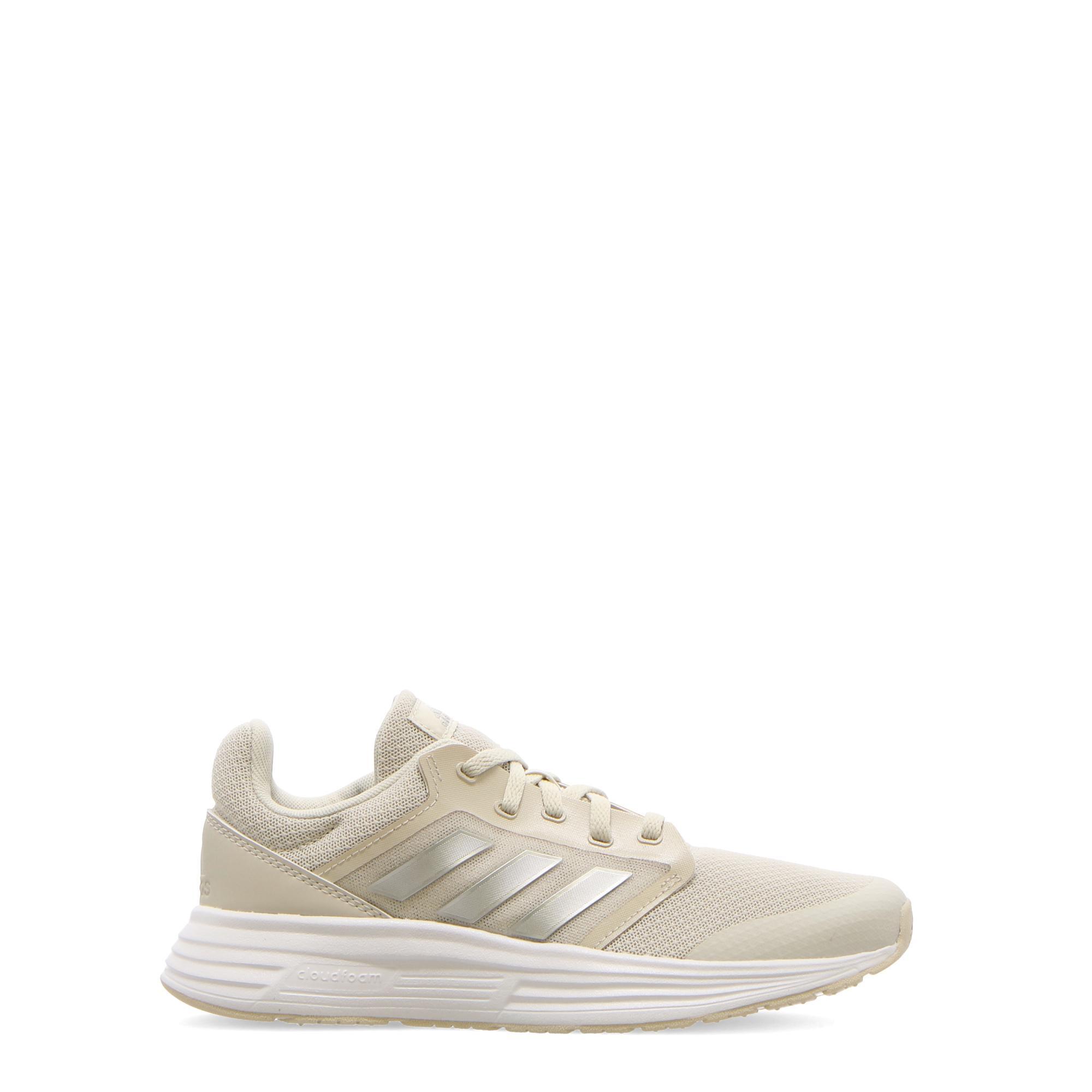 Adidas Galaxy 5 Aluminia silver met white