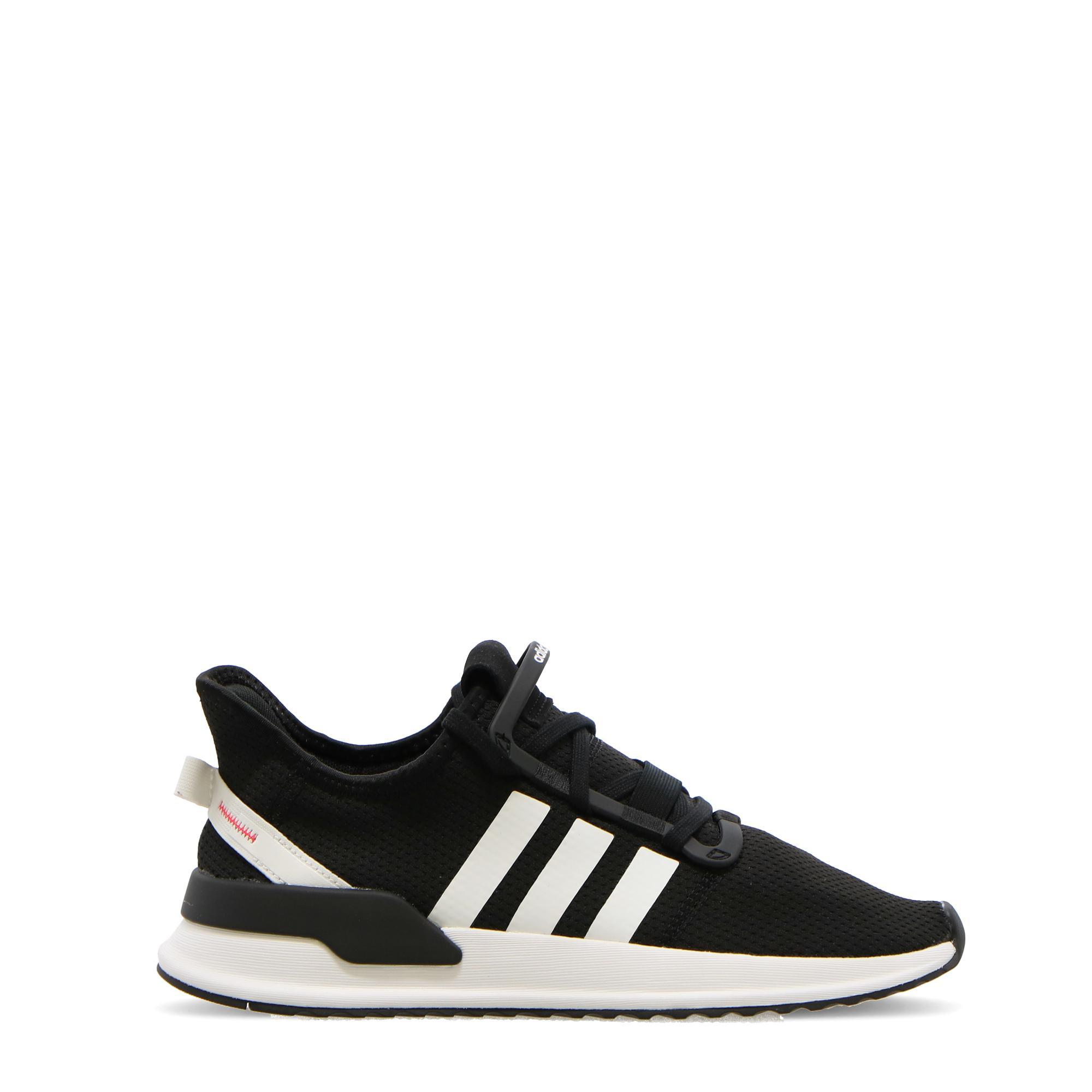 Adidas U_path Run Black white shock red
